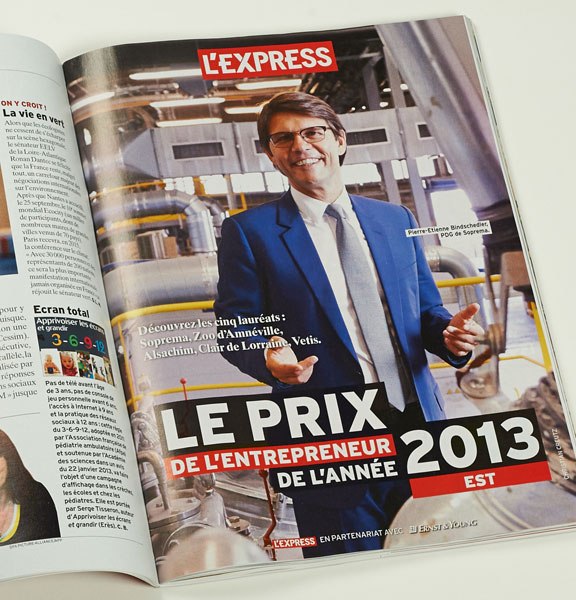 Photo portrait pour l'Express par Christian Creutz